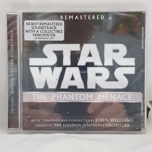 star wars the phantom menace soundtrack cd nuevo musicovinyl