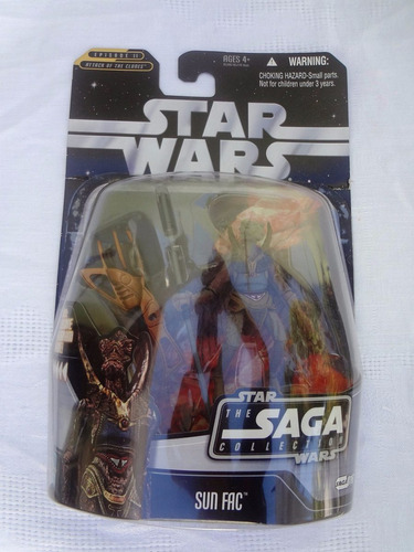 star wars the saga collection  sun fac