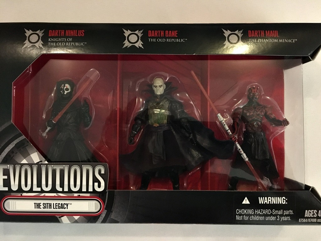 Star Wars The Sith Legacy Evolutions Darth Nihilus Bane Maul