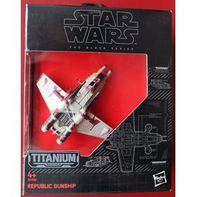Star Wars Titanium Black Series - Republic Gunship