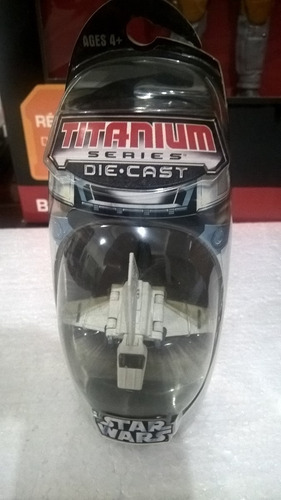 star wars titanium series die cast 2006 fáb. hasbro