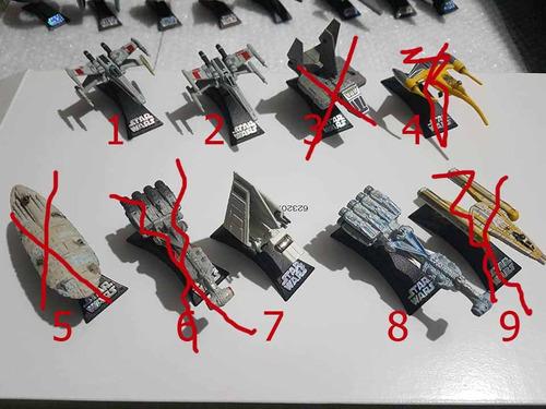 star wars titanium series naves 2004-2009 diferente precio