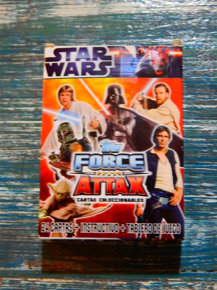 Cromos STAR WARS FORCE ATTAX Topps Completa tu colección!