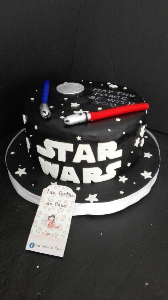 Star Wars Torta Cumpleanos Cookies Y Mas 1 600 00 En Mercado Libre