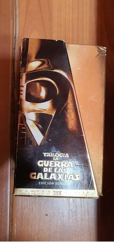 star wars trilogía edición especial vhs