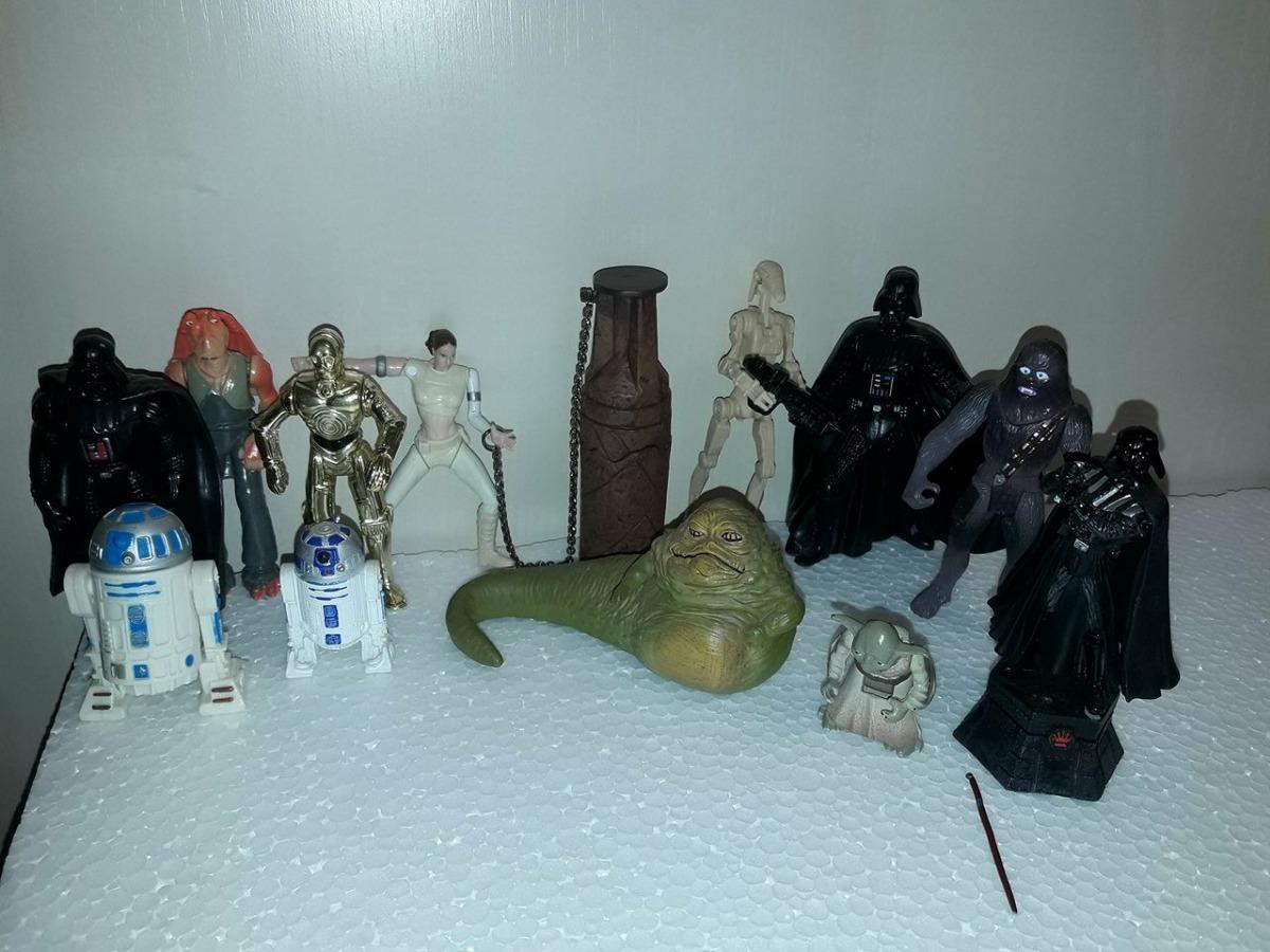 08debe05625b56 Star Wars - Vários Bonecos 12 Total Preço Único