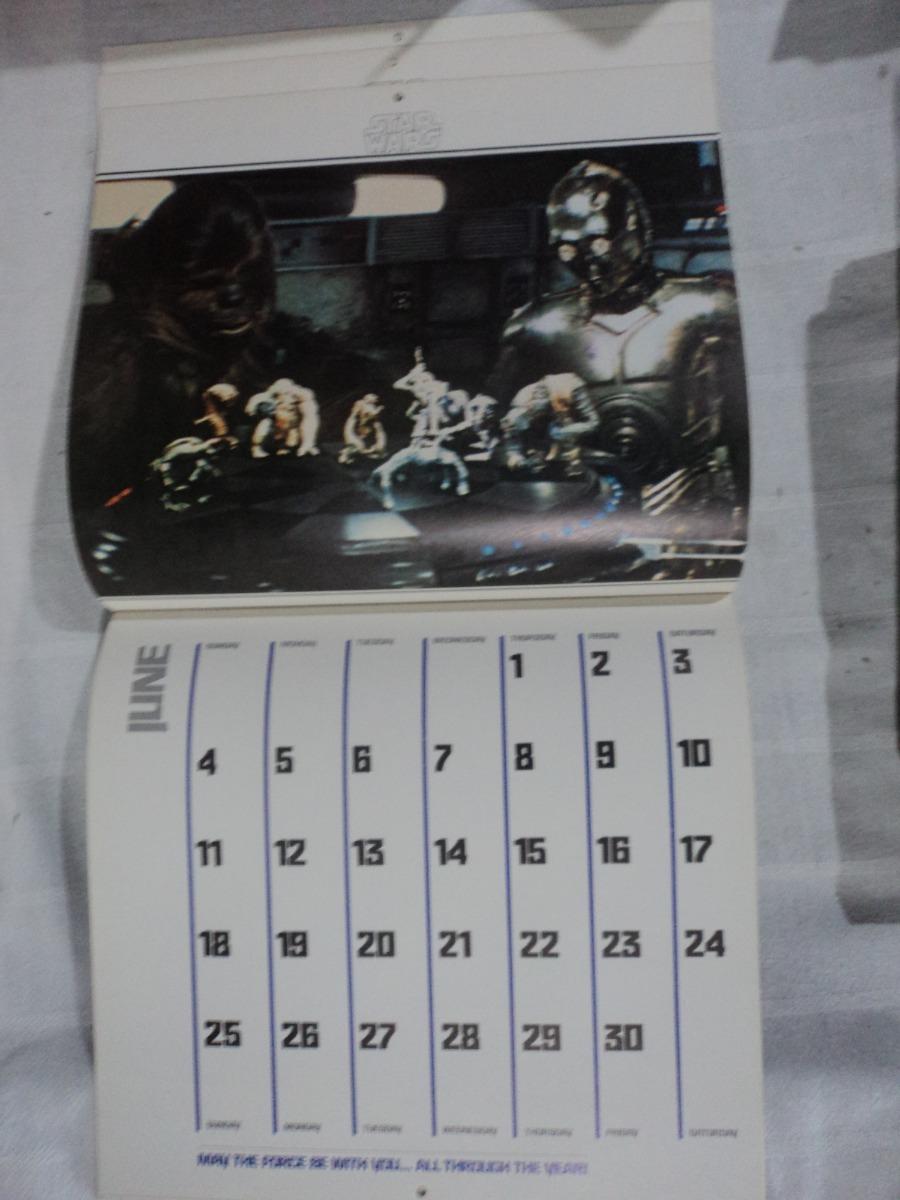Calendario 1978.Star Wars Vintage Calendario 1978 1 400 00