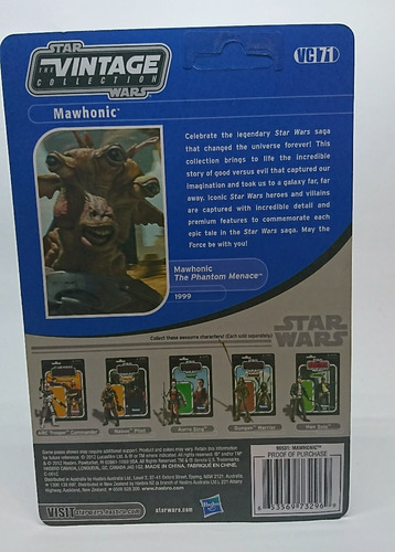 star wars vintage collection vc71 mawhonic last wave unpunch