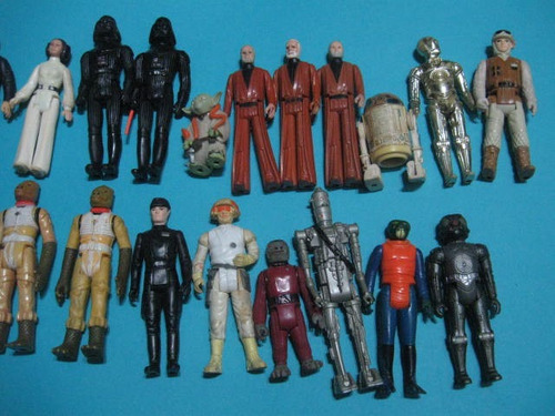 star wars vintage kenner 1977 figuras acción star wars