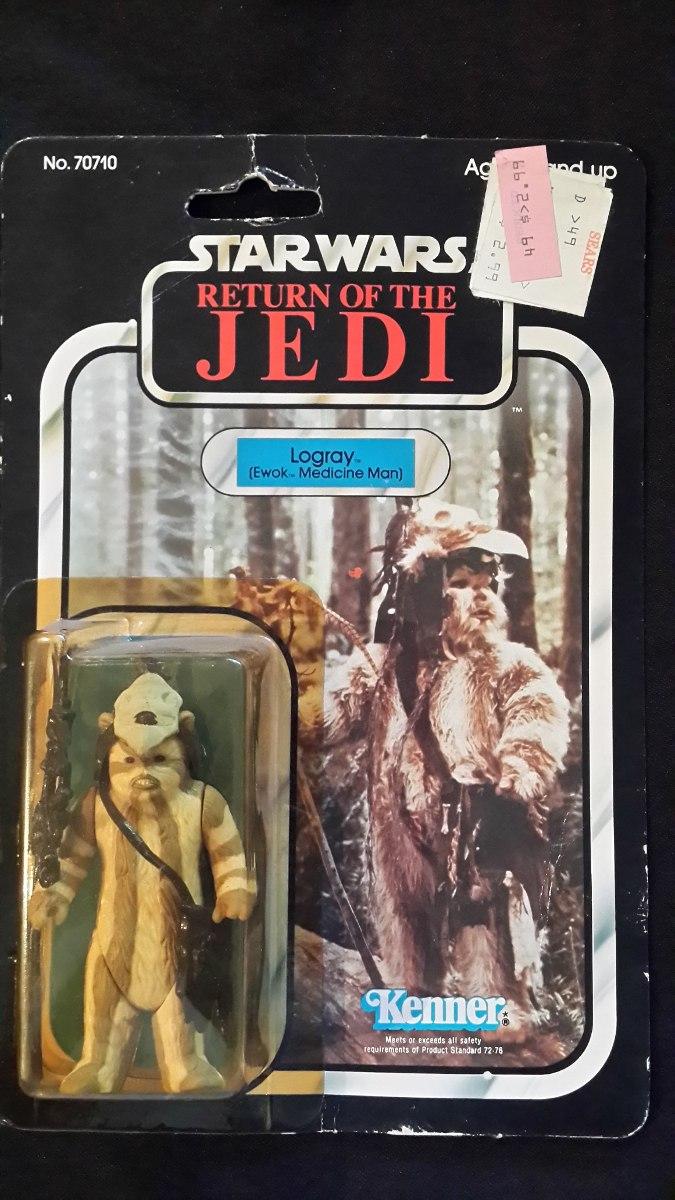 Star Wars Galactic Heroes Return Of The Jedi Ewok Logray