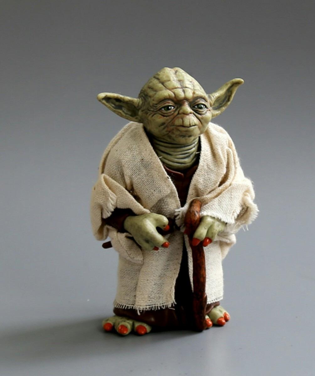 miniatura mestre yoda star wars 12cm pvc perfeita r 64 00 em mercado livre. Black Bedroom Furniture Sets. Home Design Ideas