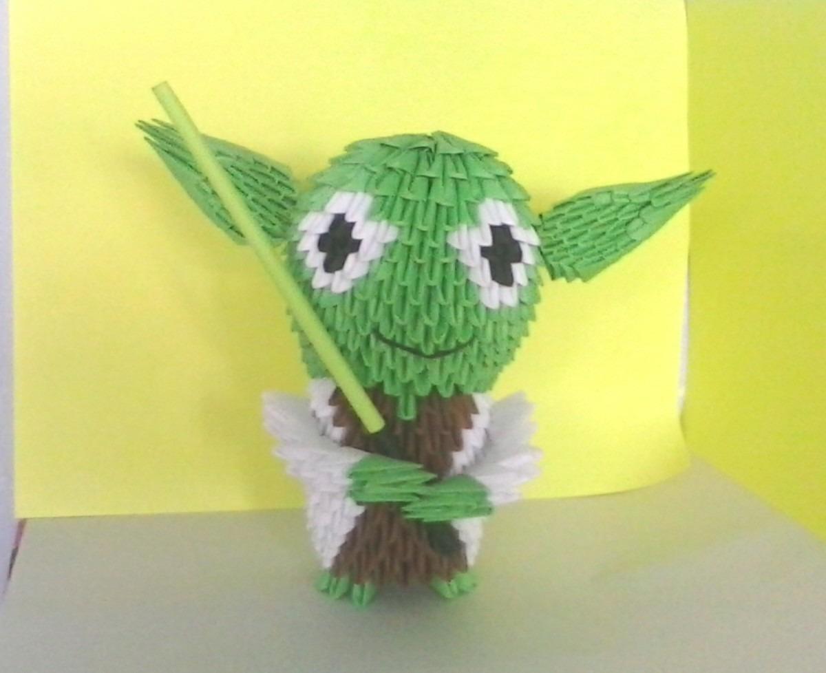 Star Wars Yoda De Origami En 3d - $ 280.00 en Mercado Libre - photo#27