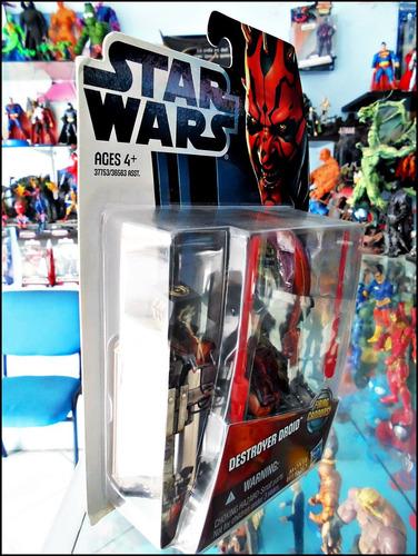 star wars,destroyer droid,movie heroes,nuevo,figura de 11 cm