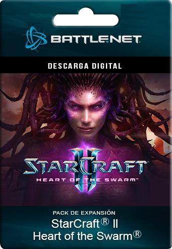 starcraft 2 heart of the swarm expansión - battlenet pc