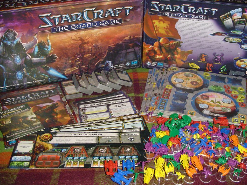starcraft el juego de tablero 3 en mercado libre