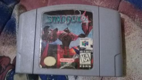 starfox 64 - nintendo 64 - original