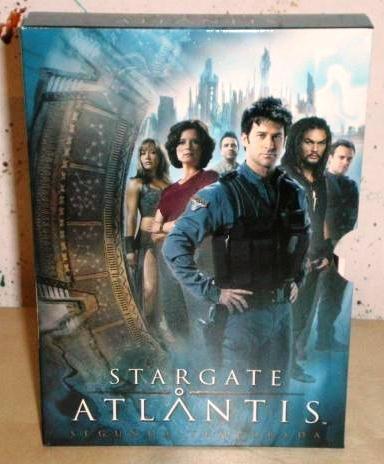 stargate atlantis segunda temporada 2 dos original dvd