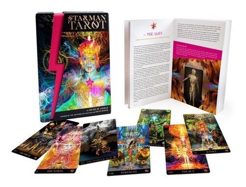 starman tarot kit, hombre estrella, tarot y libro en ingles