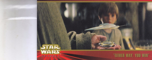stars wars topps widevision episode 1 either way win #36