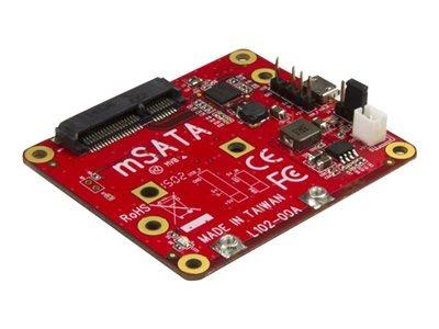 startech.com convertidor usb a msata para raspberry pi y pla