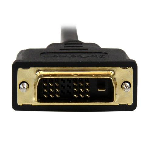 startech.com hdddvimm2m cable micro hdmi a dvi-d de 2m cable