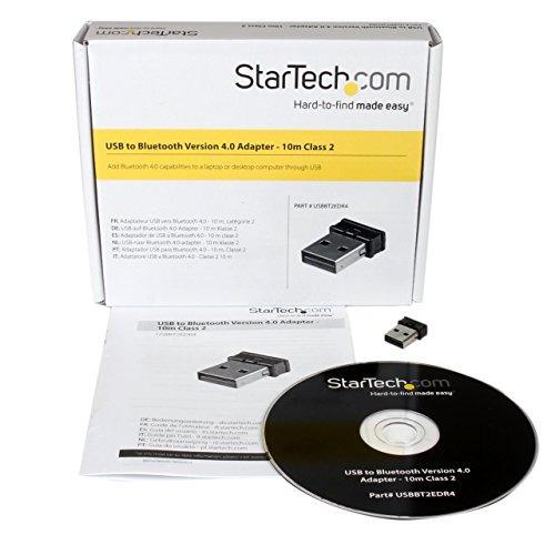 startech.com mini usb bluetooth 4.0 adaptador clase 2 edr do