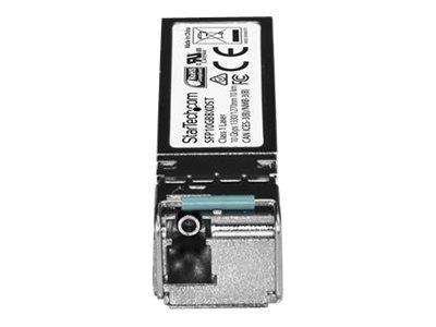startech.com módulo de transceptor sfp + de fibra de 10 giga