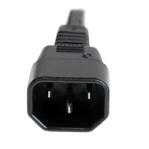 startech.com startech.com cable de alimentación de 6 pies 14