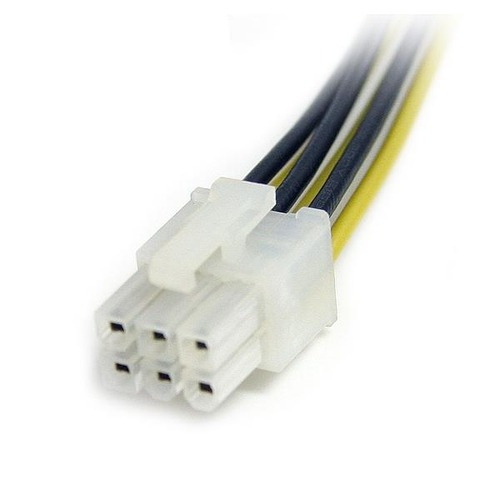 startech.com startech.com cable de divisor de energía pci ex