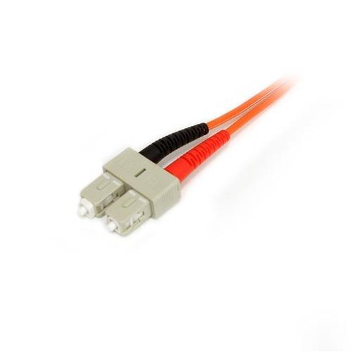 startech.com startech.com cable de fibra óptica de 3 m - dup
