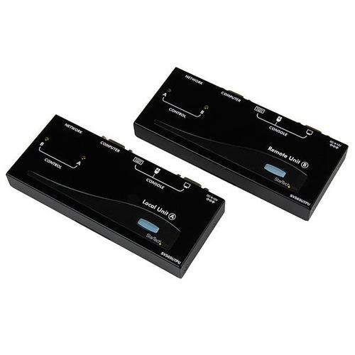 startech.com usb vga kvm console extender over cat5 utp (500