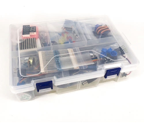 starter kit arduino uno r3 principiantes completo 44 items