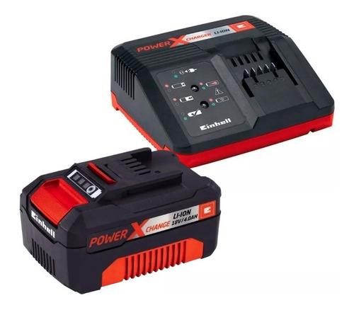 starter kit bateria litio 18v 4,0ah + cargador einhell