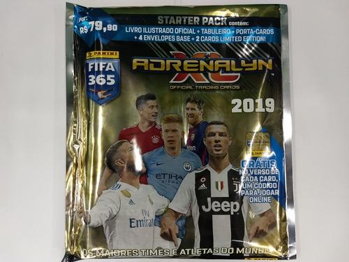 starter pack - adrenalyn xl 2019 - fifa 365