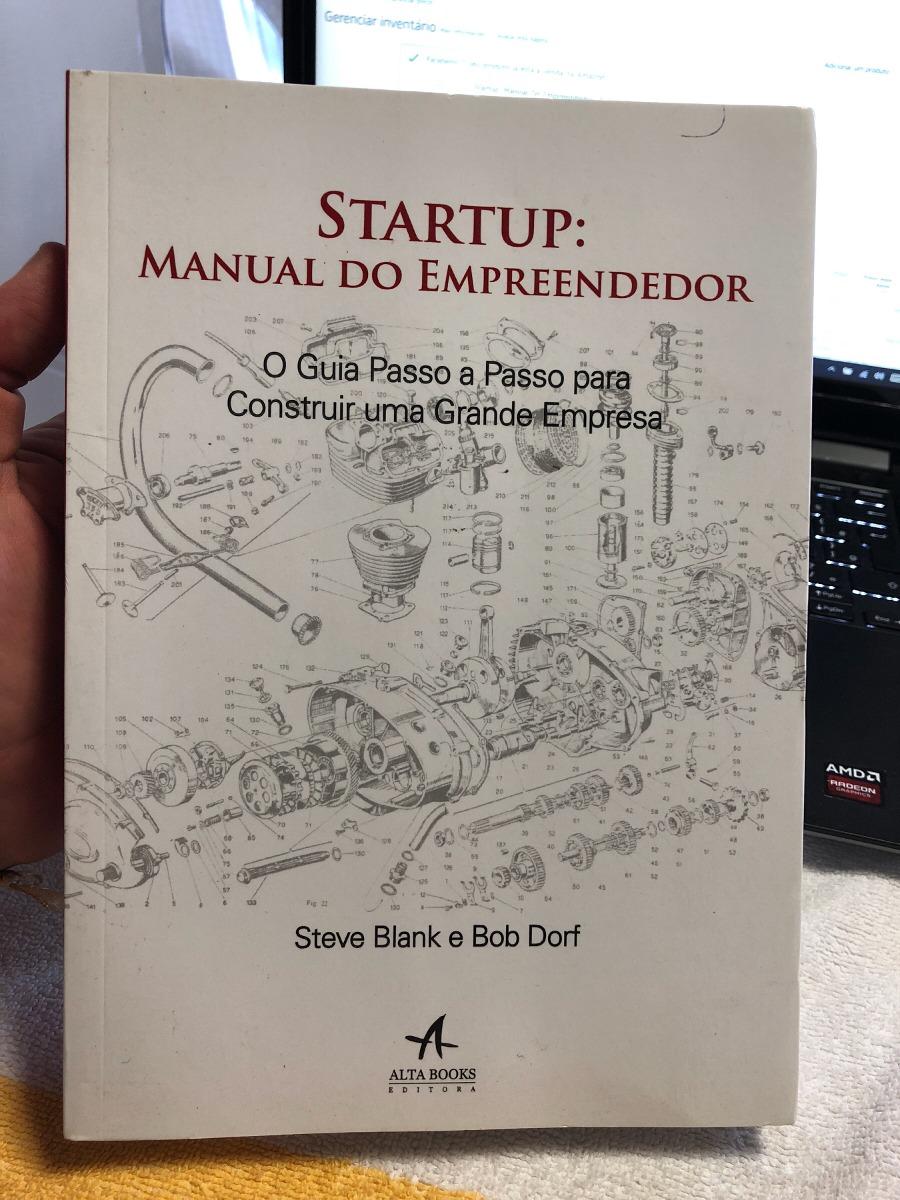 Livro: startup manual do empreendedor (steve blank) | bruno perin.