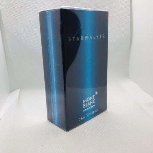 5f9a1bee2 Starwalker Mont blanc Masculino Eau De Toilette 75ml - R  199