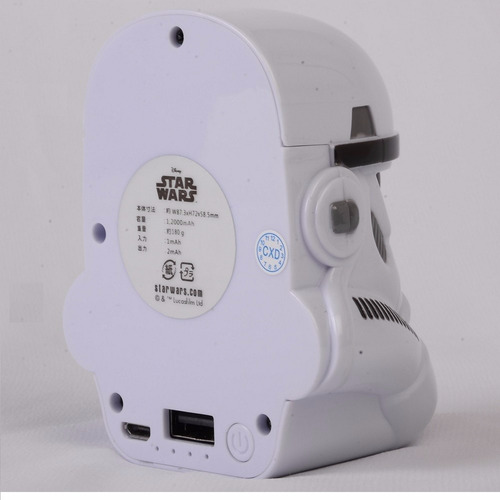 starwars power bank cargador portatil 5000mah