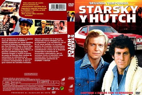 stasky and hutch  temporadas con  audio latino dvd