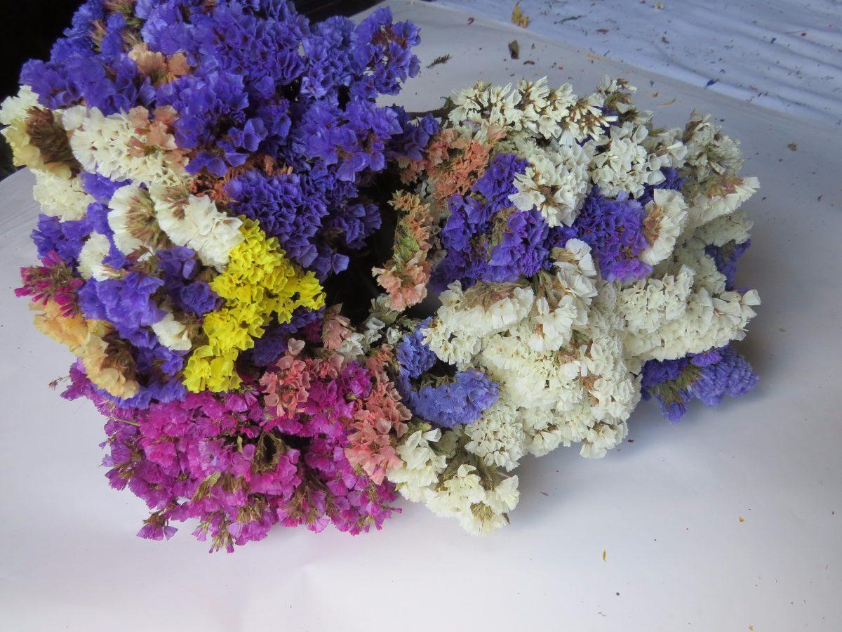 Centros de mesa flores secas centro flores variado mesa - Adornos flores secas ...