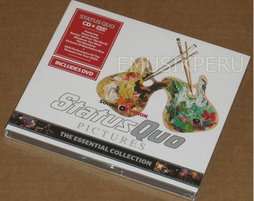 status quo essential collection cd+dvd - nuevo sellado - emk
