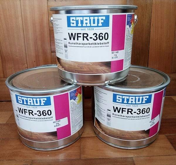 Stauf wfr 360 adhesivo para parquet en mercado - Pegamento para parquet ...