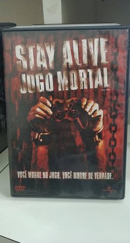 stay alive - jogo mortal - dvd