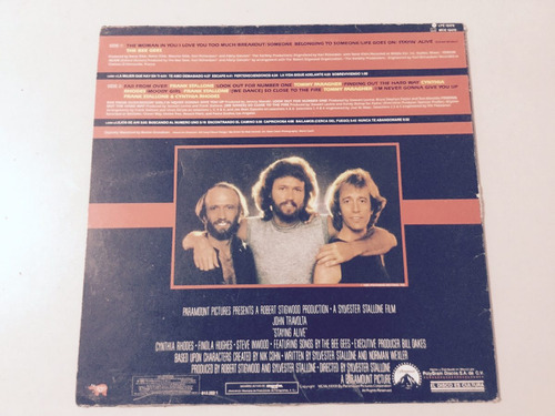 staying alive soundtrack lp