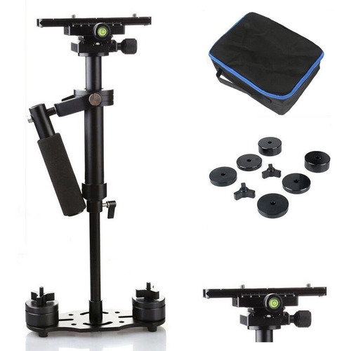 steadycam 60cm estabilizador video fotografia slr dslr dv