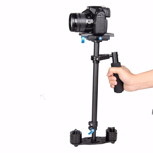 steadycam estabiliza yelangu carbono 60cm cámara video dslr