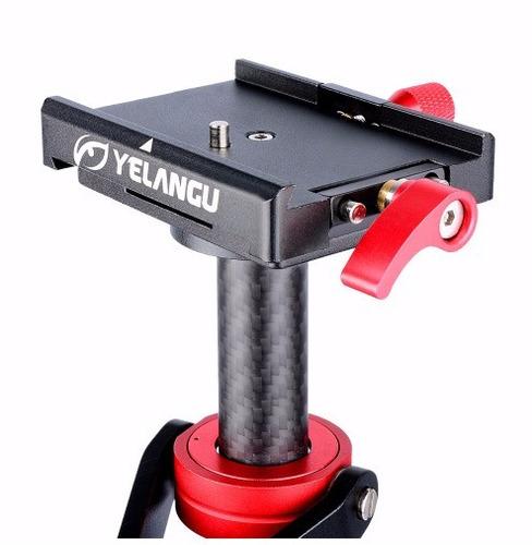 steadycam estabilizador fibra carbono 60cm cámara video dslr