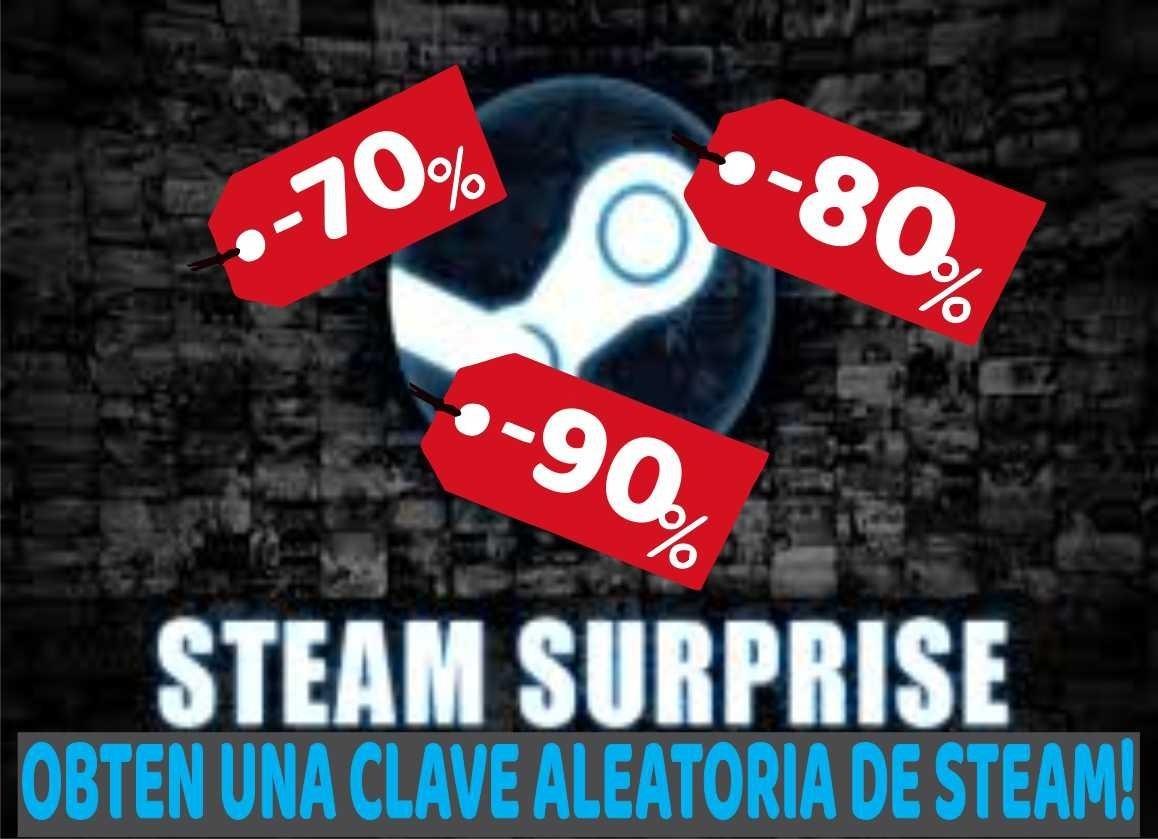 Steam Clave Aleatoria Juegos Random Nivel Gamer 8 00 En
