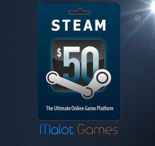 steam wallet 100 dolares en oferta - ent. inmed- malot games