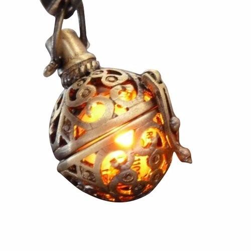steampunk steampunk fire necklace - pendant charm locket