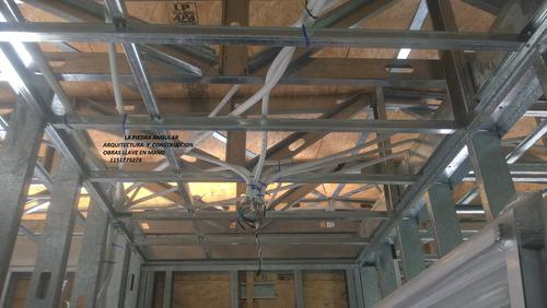 steel-casa llave en mano:planos-materiales y mano de obra-